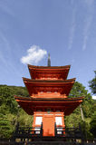 Tourist at Kiyomizu Temple Stock Images