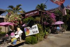 DAILY TOURIST LIFE ON LAHAINA Royalty Free Stock Photos