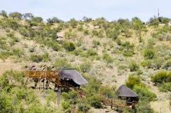 Tourist Lodges Royalty Free Stock Photo