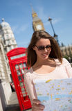 Tourist in London Stock Images