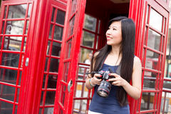 Tourist in London Stock Photography