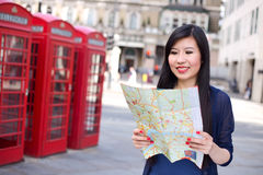Tourist in London Royalty Free Stock Photo