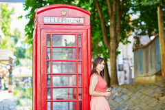 Tourist in London, UK Royalty Free Stock Photography