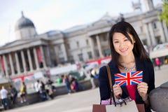 Tourist in London Royalty Free Stock Photos