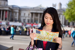 Tourist in London Royalty Free Stock Photos