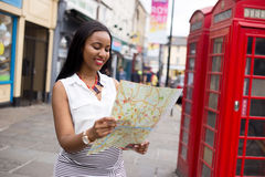 Tourist in london Stock Photo