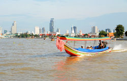 Tourist long tail boat Stock Images