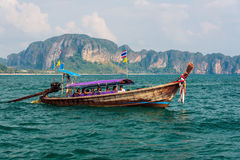 Tourist longtail boat Stock Images