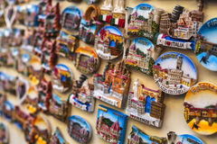 Tourist magnets of Florence retailed Royalty Free Stock Photos