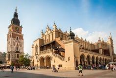Tourists in Krakow Stock Photo