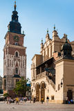 Tourists in Krakow Royalty Free Stock Images