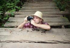 Tourist Royalty Free Stock Photo