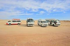 Tourist minibus Stock Image