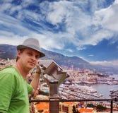 Tourist in Monaco Royalty Free Stock Photo