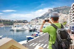 Tourist in Monaco Stock Photos