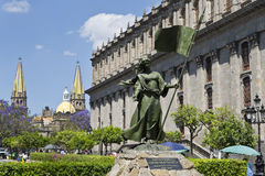 Tourist monuments of the city of Guadalajara Royalty Free Stock Photo