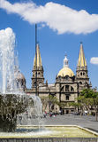Tourist monuments of the city of Guadalajara Royalty Free Stock Image
