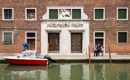Tourist in Murano, Venice, Italy Royalty Free Stock Photo