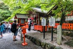 Tourist at Nonomiya Shrine Royalty Free Stock Photography