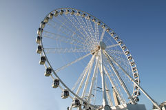 Tourist Observation Wheel. On Plymouth Hoe DevonEngland United Kingdom Stock Photo