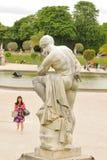 Tourist in Paris Stock Photos