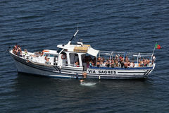 Tourist party boat in Portugal Royalty Free Stock Images