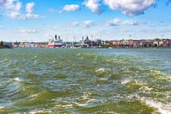 Tourist passenger boat, Finland Stock Image