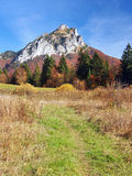 Tourist path to Velky Rozsutec, Slovakia Stock Images