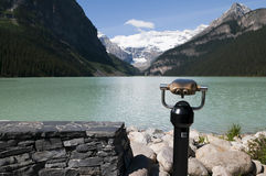 View at Lake Louise Royalty Free Stock Photos