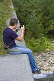 Tourist photographer Royalty Free Stock Image