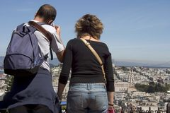 Tourist Photographers Royalty Free Stock Image