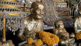 Tourist placen Wat Saket in Bangkok. Temple of the Golden Mount Royalty Free Stock Photos