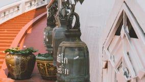 Tourist placen Wat Saket in Bangkok. Temple of the Golden Mount Stock Photography