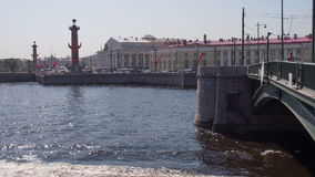 Tourist Places in St. Petersburg stock video