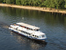 Tourist pleasure boat Royalty Free Stock Images