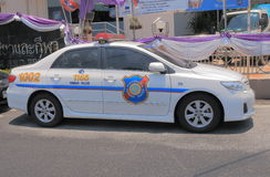 Tourist police car Thailand Royalty Free Stock Photography