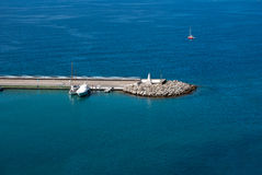 Tourist port Stock Image