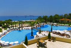 Tourist resort Royalty Free Stock Image