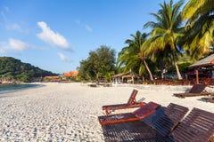 Tourist resort beach Stock Photo
