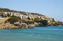 Tourist resort in Crete island Royalty Free Stock Photography