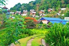 Tourist resorts among the nature Stock Photo