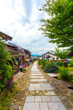 Tourist Restaurants Nakasendo Trail Magome V Royalty Free Stock Images