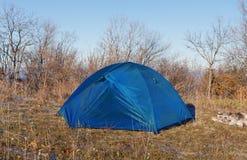 Tourist's tent Stock Image