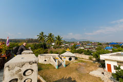 Tourist in Santichon chinese village Stock Images