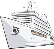 Tourist ship Royalty Free Stock Photos
