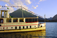 Tourist ship Royalty Free Stock Photography