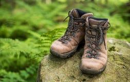Tourist shoes Stock Photo
