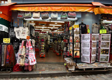 Tourist shop Royalty Free Stock Images