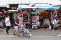 Tourist shopping in Chatuchak weekend market Stock Photo