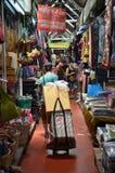 Tourist shopping at Chatuchak weekend market in Bangkok, Thailan Stock Photo